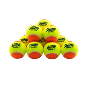 Shine Stage 2 Tennis Ball | Shine Titan - All Sports Equipments