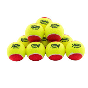 Shine Stage 3 Tennis Ball | Shine Titan - All Sports Equipments