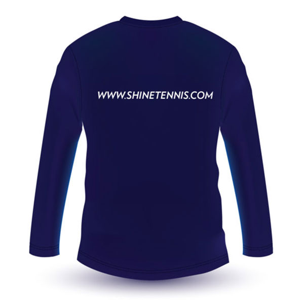 Cricket Helios Long Sleeve T-Shirt (Navy Blue) | Shine Titan - Always Have A Gift For You