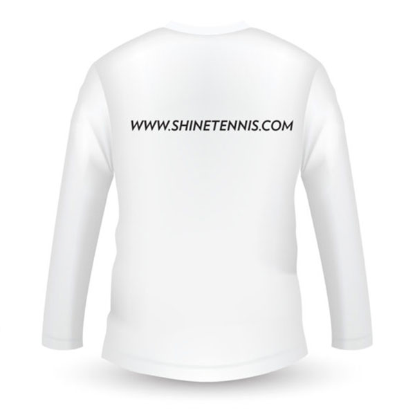 Cricket Helios Long Sleeve T-Shirt (White) | Shine Titan - Always Have A Gift For You